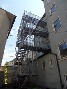 Fluchttreppenturm