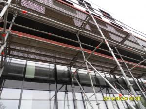 Fassaden- und Raumgerüst
