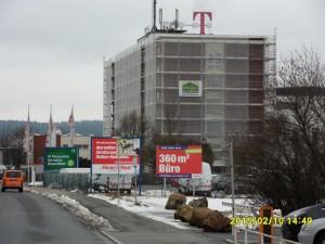 Hauptgebäude der Deutschen Telekom in Weiden